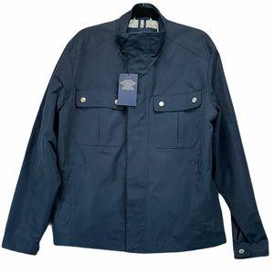 Cole Haan Navy Marine Rain Jacket NWT